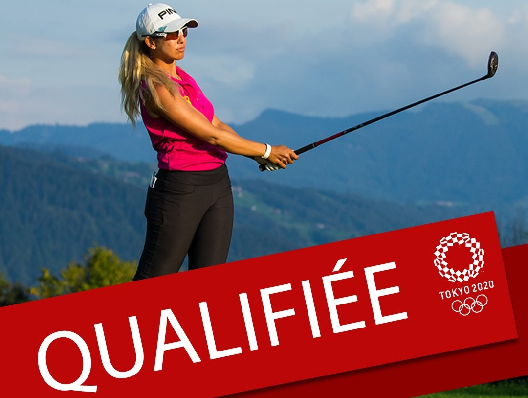Golf : Maha Haddioui qualifiée pour JO de Tokyo