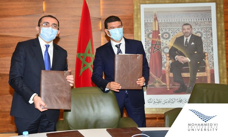 Crédit Agricole du Maroc et l'UM6P s'associent pour le développement de l'innovation et l'entrepreneuriat