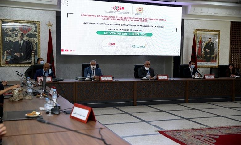 Le partenariat vise à accompagner 500 artisans, traiteurs et commerçants par an dans le processus de digitalisation et de commercialisation en ligne de leurs produits. Ph : MAP
