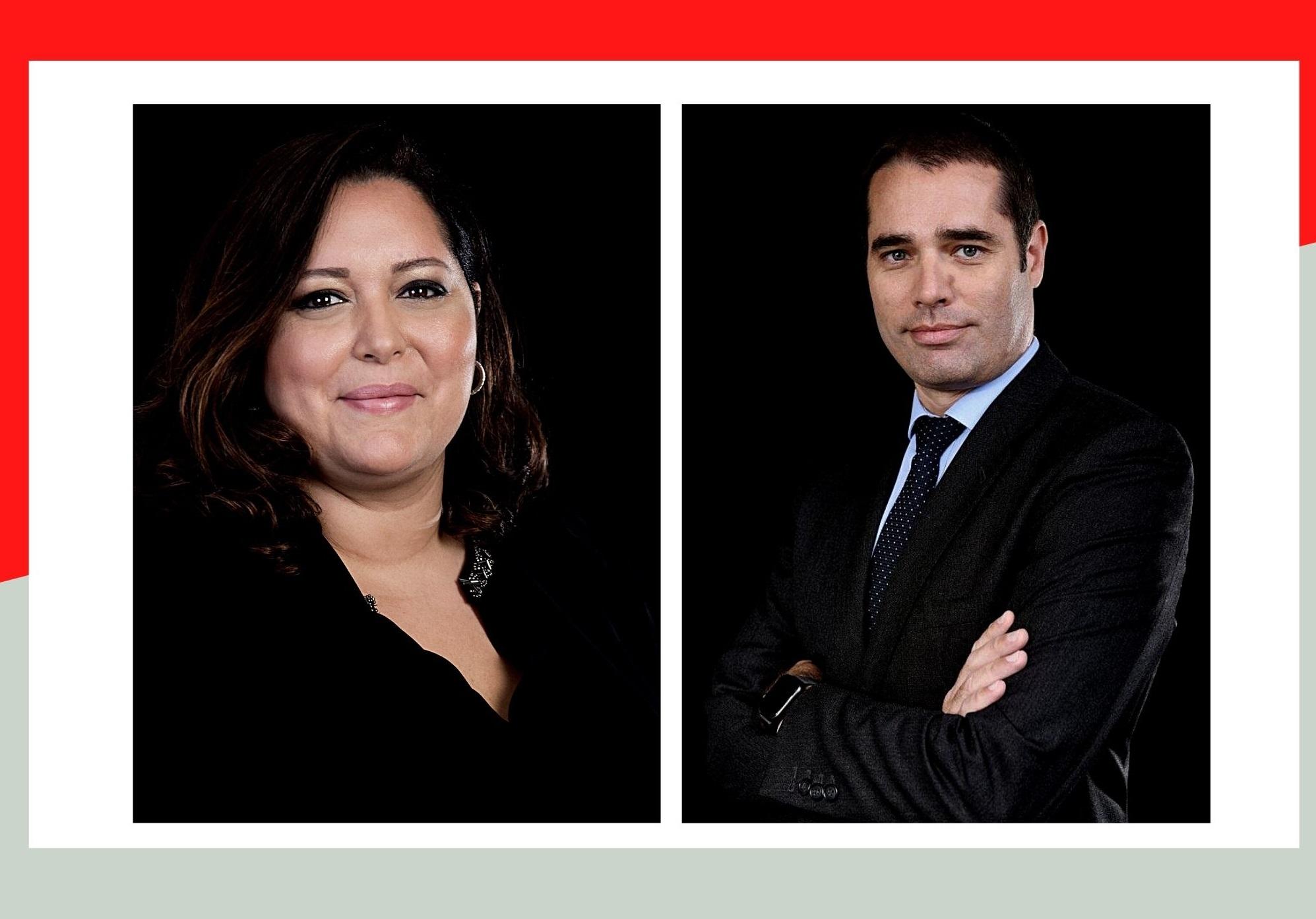 Hind Khatir, directrice Communication et membre du Comex & Olivier Joulain, directeur des Ressources Humaines et membre du Comex de Société Générale Maroc.