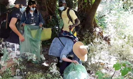 Journée mondiale de l'environnement: campagne de nettoyage au dans le Val d'Ifrane