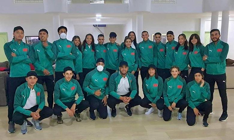 vingt-quatre athlètes marocains sont engagés dans ce championnat qui connaît la participation de plus de 400 sportifs d'une vingtaine de pays. Ph : DR