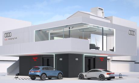 Une plateforme de recharge inédite chez Audi