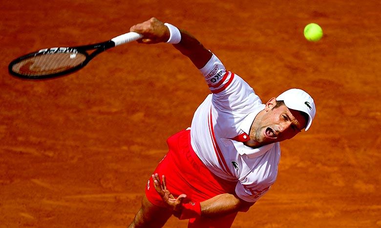 Le top 10 mondial est resté inchangé dans le nouveau classement ATP, toujours dominé par le trio de tête composé du Serbe Novak Djokovic. Ph :  AFP