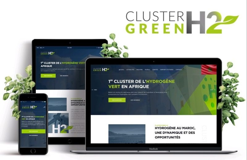 Le Cluster GreenH2 lance son site internet