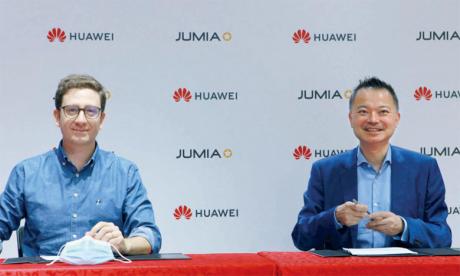 Huawei et Jumia scellent un partenariat