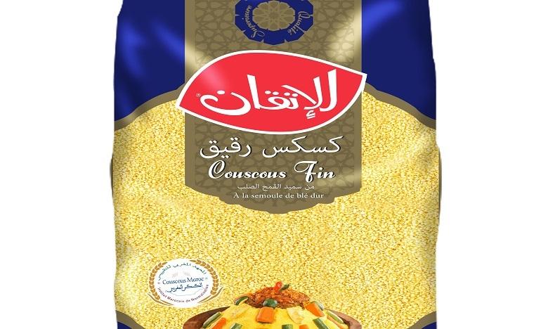 Le  label « Couscous Maroc » de IMANOR attribué à « Couscous Alitkane »