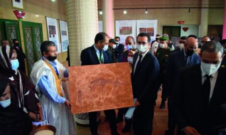 Des hommages ont été rendus à la fin des journée d'étude sur l'art des inscriptions rupestres.