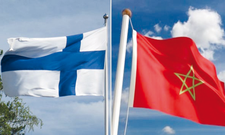 Le Maroc a toujours occupé la deuxième ou la troisième place en tant que partenaire commercial de la Finlande en Afrique, selon l'ambassade de Finlande au Maroc.
