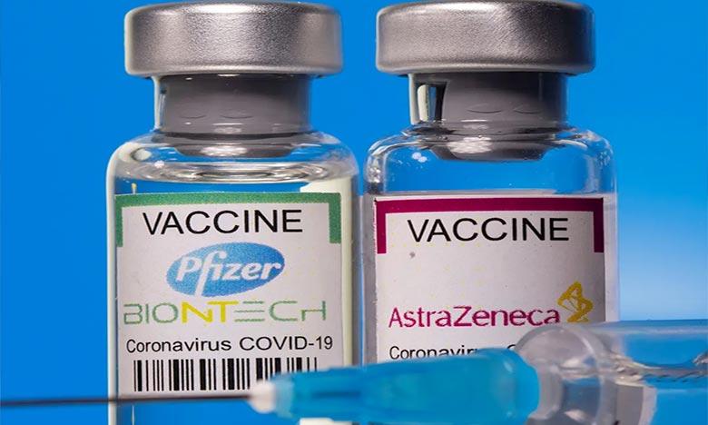 L'étude de PHE montre une protection à 96% contre les hospitalisations après deux doses du vaccin Pfizer/BioNTech et à 92% pour Oxford/AstraZeneca contre les hospitalisations après avoir contracté le variant Delta du Covid-19. Ph : AFP