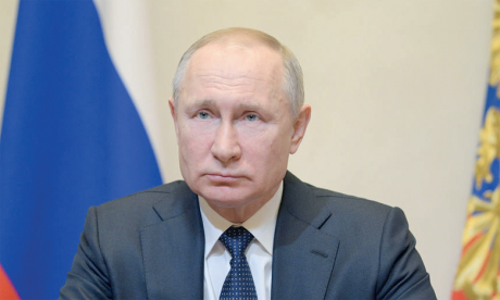 «Nous avons été accusés de toute sorte de choses», notamment «l'ingérence dans des élections» ou «les cyberattaques», a déclaré le Président russe. Ph. Reuters