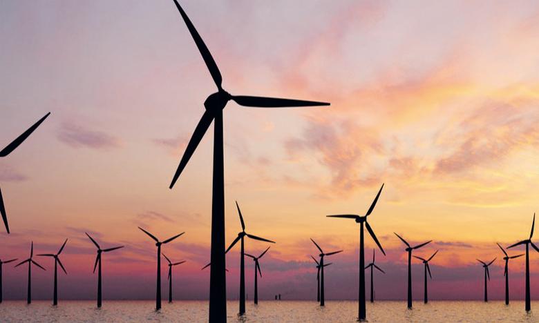 Parmi les énergies offshore, c'est l'éolien flottant qui progresse le plus rapidement, l'Irena prévoit une croissance de 34 gigawatts actuellement installés à environ 380 GW en 2030.   Ph. Irena