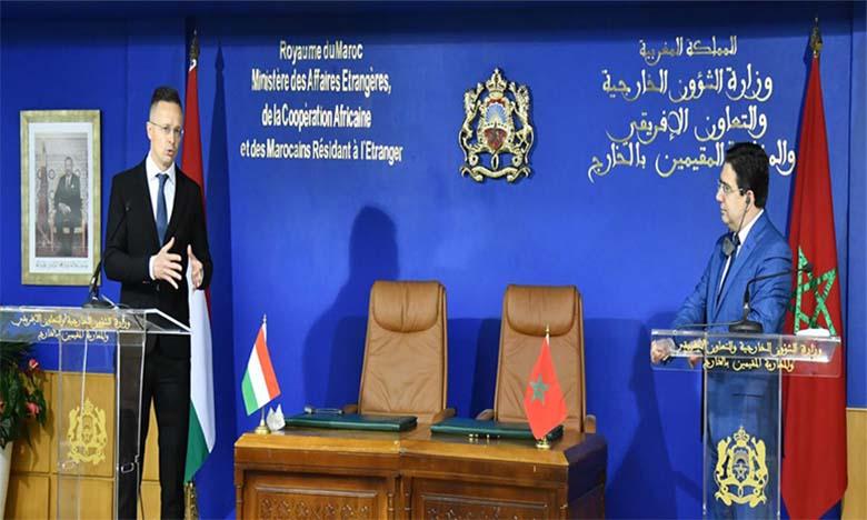 La Hongrie salue le rôle «déterminant et exemplaire» du Maroc dans la lutte contre l'immigration irrégulière et le terrorisme et souligne son statut de «partenaire stratégique de l'UE»