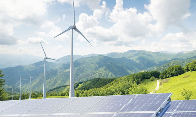 Les énergies renouvelables dominent les investissements dans la nouvelle production d'électricité et devraient représenter 70% du total de 530 milliards de dollars dépensés en 2021. Ph. DR