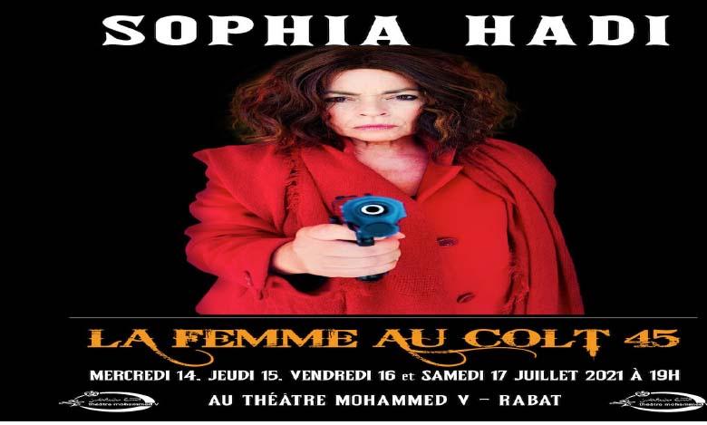 Sophia Hadi se distingue par son jeu et sa forte présence sur scène