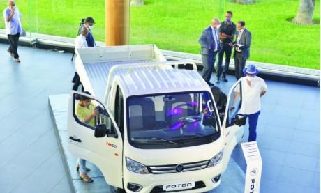 Africa Motors lance le mini-camion Foton TM