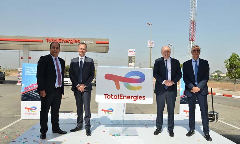 Rebranding: La première station-services TotalEnergies inaugurée à Casablanca
