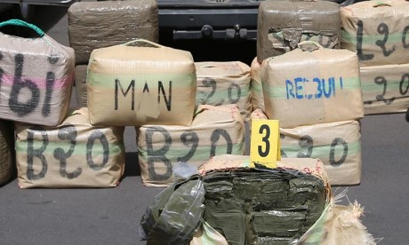 El Guergarat: Mise en échec d'une tentative de trafic international de drogue