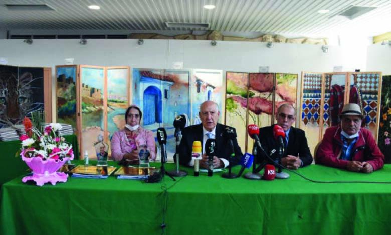 Conférence de presse pour la présentation de l'ONAPP et ses activités.