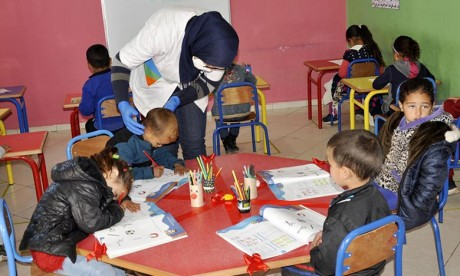 INDH : L'offre de l'enseignement préscolaire renforcée à Taounate
