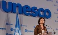 Audrey Azoulay a souligné la nécessité de s'attaquer au «partage inégal des revenus entre les créateurs et les plateformes numériques». Ph : Unesco