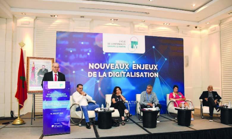 La quatrième et dernière Matinale du Cycle de conférences du Groupe Le Matin «Nouveaux enjeux de la digitalisation» a été organisée, le 17 juillet, sur le thème «L'employabilité à l'ère du digital : nouveaux métiers, nouvelles compétences». Ph. Saouri