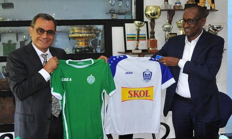 Foot : le Raja Casablanca s'allie au club rwandais Rayon Sports