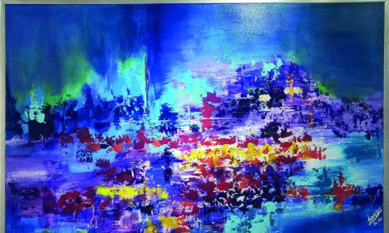 Tableau de Loubna Fazazi Idrissi.