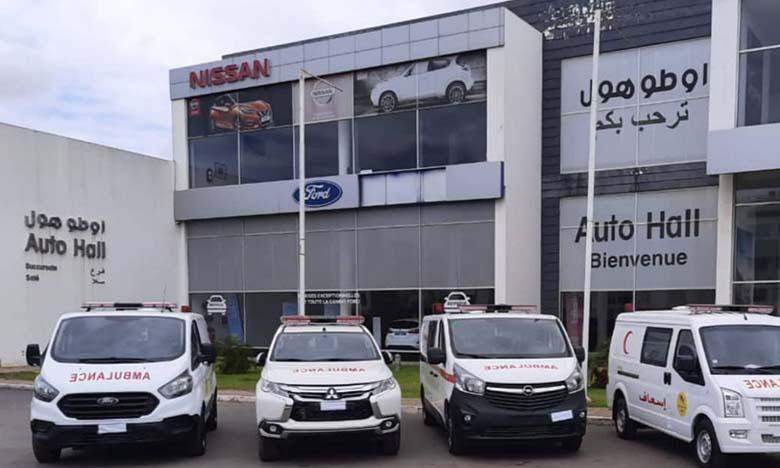 Nouvelle succursale Auto Hall à Khouribga