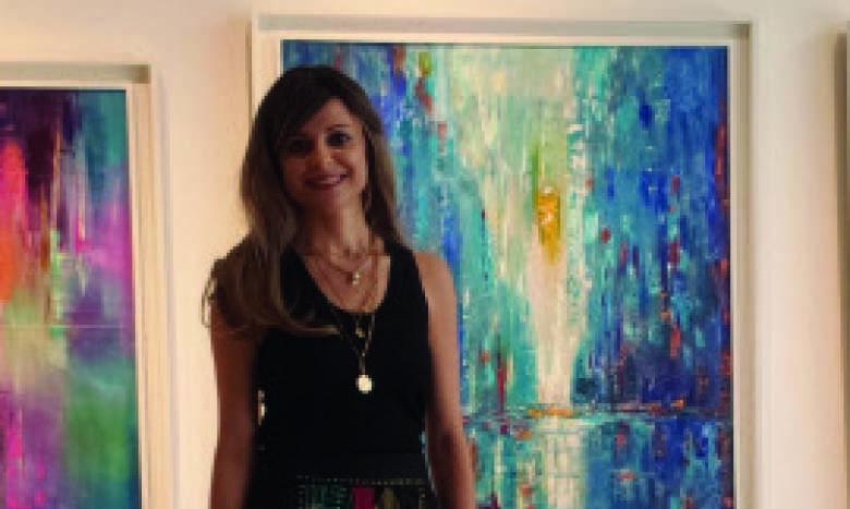 Loubna Fazazi Idrissi présente son «Rêve en couleurs»
