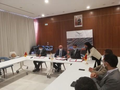 Programmes DATA-TIKA : Signature d'une convention de partenariat entre la CNDP, l'OCP et l'UM6P