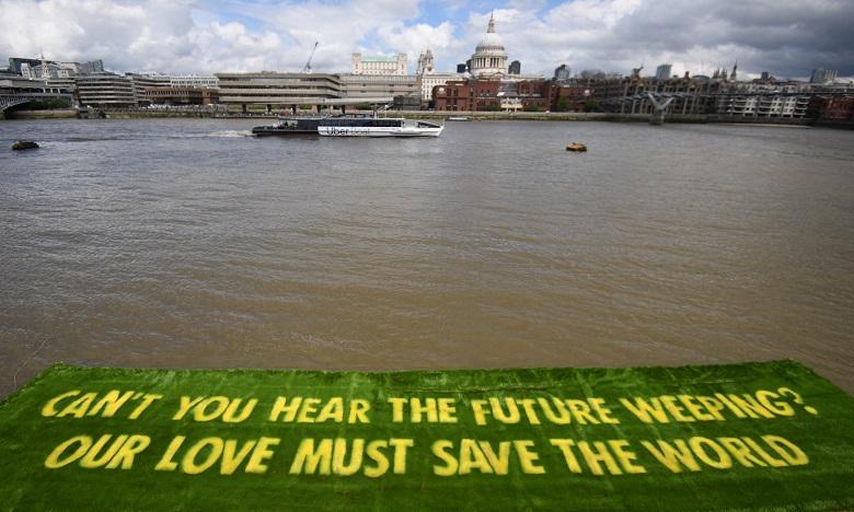 Climat: Londres réunit 51 pays pour préparer la COP26