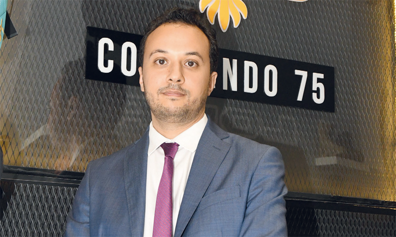 Youssef Charif, directeur général et co-fondateur de «Commando 75».