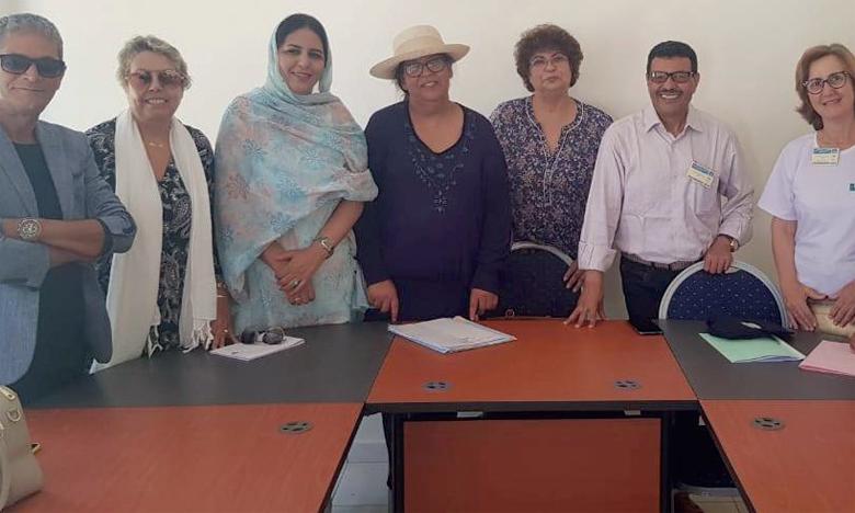 Membres du bureau du Club de la presse du Maroc.