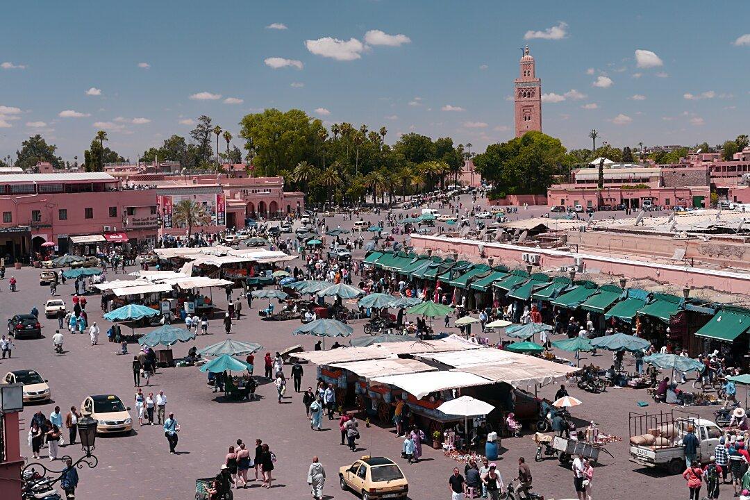 Marrakech : Campagne de sensibilisation anti-Covid-19 à Jemâa El Fna