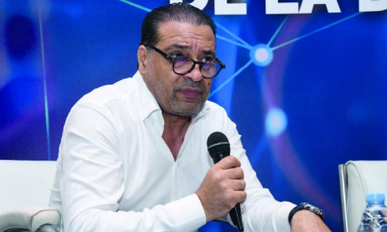 Hicham Zouanat, lors de la dernière Matinale du Groupe Le Matin portant sur l'employabilité à l'ère du digital. Ph. Saouri