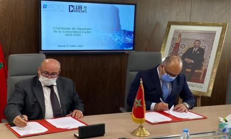 L'ADD et le Club des dirigeants du Maroc s'allient pour le développement des talents digitaux