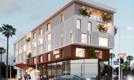 Lomen Luxury hôtel : les travaux de construction lancés à Dakhla
