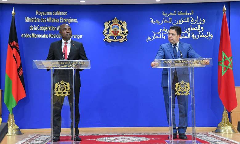 Le Malawi ouvre demain un consulat à Laâyoune, la 24e représentation diplomatiques dans les provinces du Sud