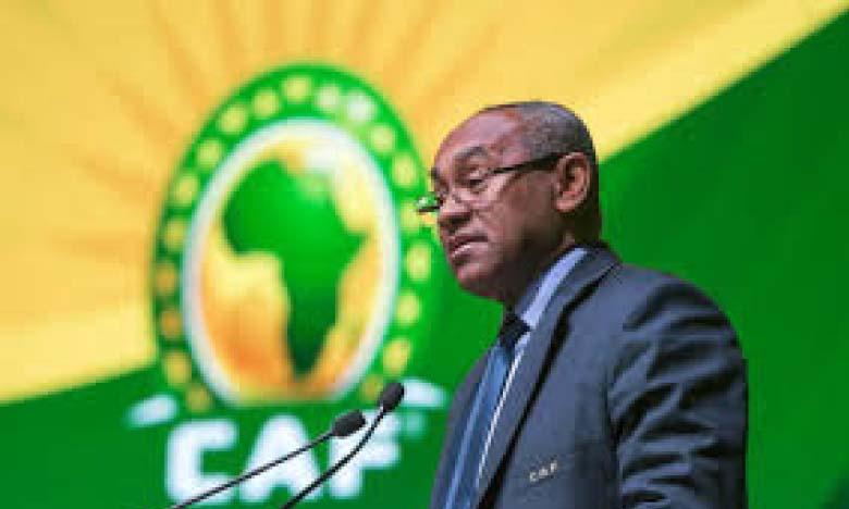 Ahmad Ahmad, ancien président de la CAF.