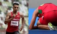 Abdelati El Guesse a assuré sa qualification après avoir occupé la 4e place de la 1ère série des en 1 min 44 sec 84, tandis que Nabil Oussama a validé son billet en occupant la 5e place de la quatrième série en 1 min 45 sec 64. Ph :  AFP