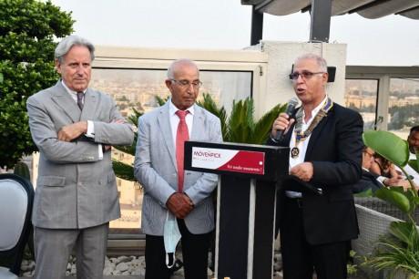 Le Rotary Club Casablanca Anfa accueille son nouveau président
