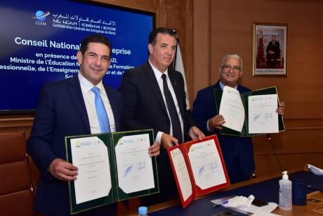 Conseil National de l'Entreprise : les détails des conventions signées