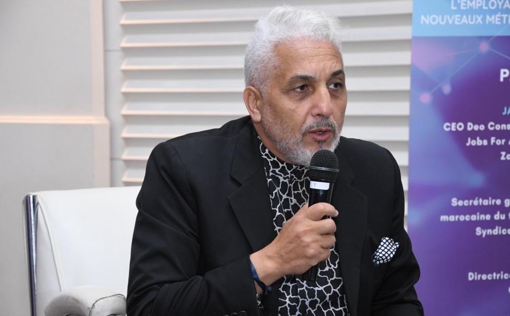 Jamal Belahrach, CEO Deo Conseil, président de la fondation Jobs For Africa et de la Fondation Zakoura Education
