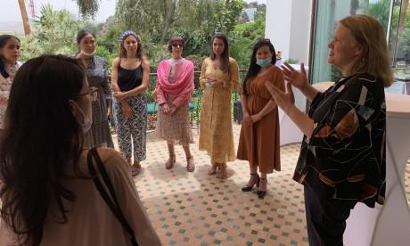 L'ambassadrice de la COP26 à la rencontre des actrices de l'action climatique au Maroc