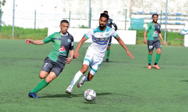 Phase de jeu d'un précédant match du KAC contre le Stade marocain.