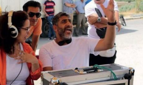 Farid Regragui en plein tournage.
