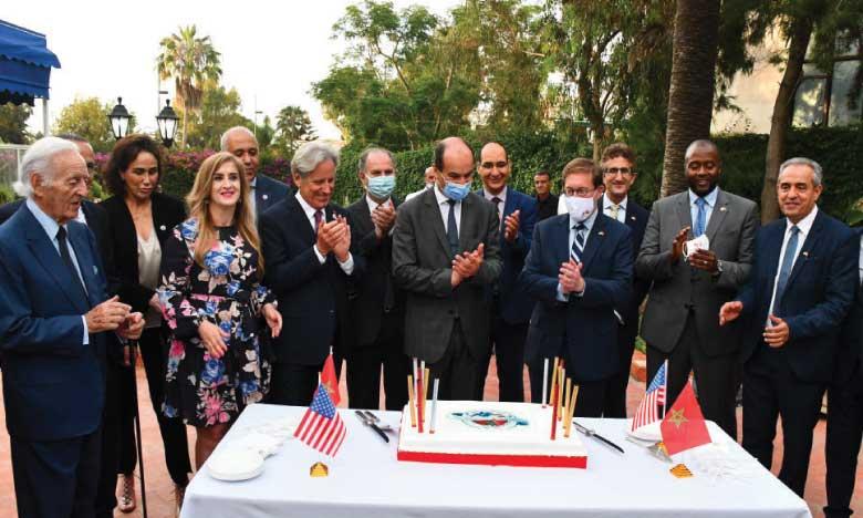 15e anniversaire de l'accord de libre-échange Maroc-États-Unis d'Amérique.