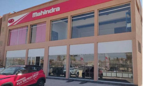 Ouverture d'une succursale Mahindra  à Marrakech