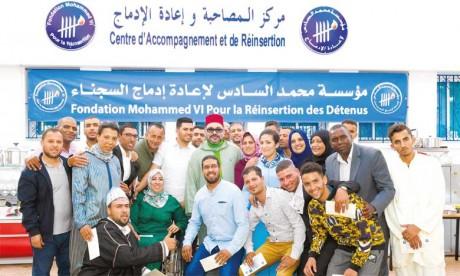 La Fondation Mohammed VI pour la réinsertion des détenus donne une seconde chance aux jeunes prisonniers